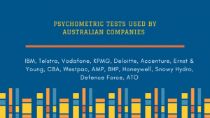 Australian firms use psychometric testing